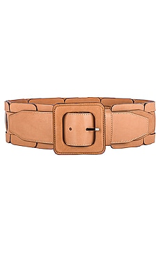 Square Link Wide Waist Belt Zimmermann $220