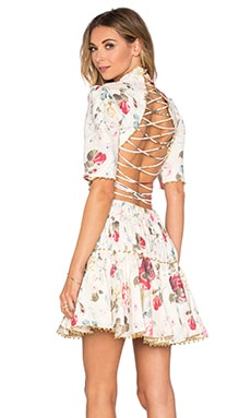5f0e76900c RUNWAY Mischief Corset Laced Dress Zimmermann  1