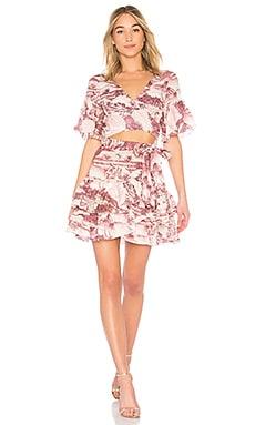 Short Sleeve Wrap Dress