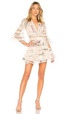 Laelia Diamond Flutter Dress Zimmermann $850