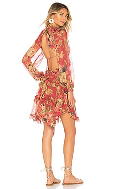 Melody Lace Up Short Dress Zimmermann $1,050 BEST SELLER
