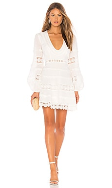 Castile Plunge Dress Zimmermann $850