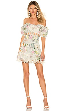 Heathers Off Shoulder Dress Zimmermann $850 Collections