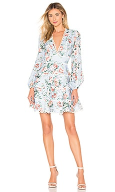 Bowie Flounce Short Dress Zimmermann $850