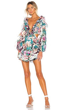 ROBE COURTE ALLIA Zimmermann $850 BEST SELLER