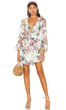 X REVOLVE Allia Frill Short Dress Zimmermann $850