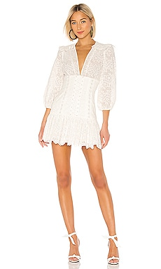 Honour Corset Lace Dress Zimmermann $795 NEW ARRIVAL