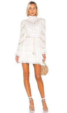 Veneto Perennial Short Dress Zimmermann $950