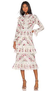 Honour Pintuck Panelled Dress Zimmermann $1,150 Collections