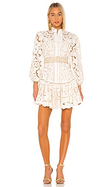 Edie Embroidery Short Dress Zimmermann $1,050 Collections
