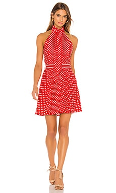 Zinnia Halter Neck Mini Dress Zimmermann $530