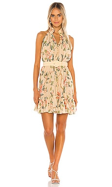Kirra Short Halter Dress Zimmermann $695 NEW ARRIVAL