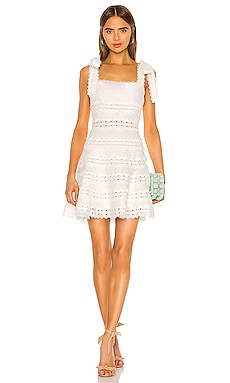 Kirra Tie Shoulder Mini Dress Zimmermann $750