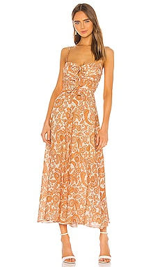Peggy Off Shoulder Tie Dress Zimmermann $640