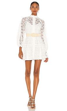 Empire Fit Flare Short Dress Zimmermann $795