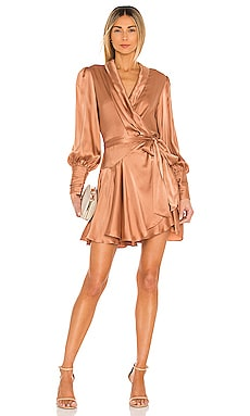 Silk Wrap Mini Dress Zimmermann $595