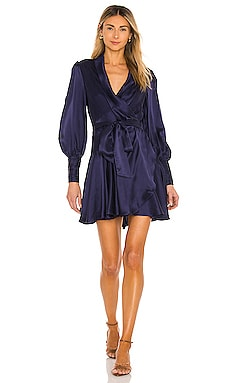 Silk Wrap Mini Dress Zimmermann $595