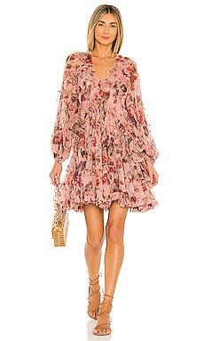 Cassia Billow Short Dress Zimmermann $1,100