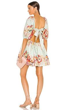 Mae Cut Out Mini Dress Zimmermann $695 BEST SELLER