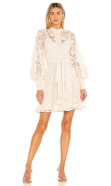 Cassia Lace Short Dress Zimmermann $850