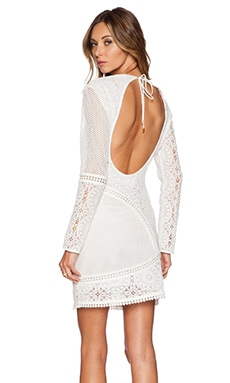 Zimmermann Anais Lace Dress in Ivory