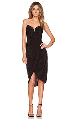 Zimmermann Petal Twist Dress in Black
