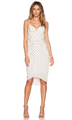 Zimmermann Seer Dot Balconette Dress in Pearl