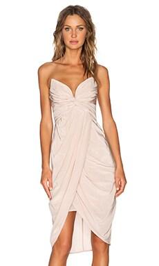 Zimmermann Petal Twist Dress in Sunstone