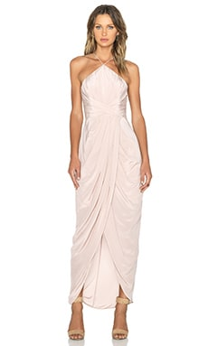Zimmermann Tuck Maxi Dress in Sunstone