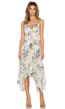 Zimmermann Lucia Embroidered Dress in Floral