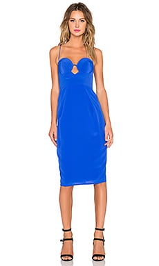 Zimmermann Silk Lift Dress in Ultramarine