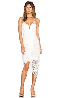 Zimmermann Arcadia Lace Dress in Winter White