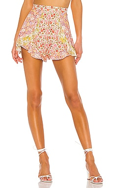 Goldie Spliced Frill Short Zimmermann $375