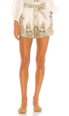 Freja Paisley Short Zimmermann $425 Collections
