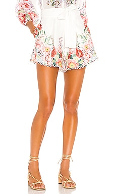 Bellitude Floral Short Zimmermann $430 BEST SELLER