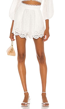 Bellitude Scallop Short Zimmermann $375 Collections