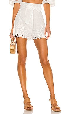 Lulu Scallop Shorts Zimmermann $450