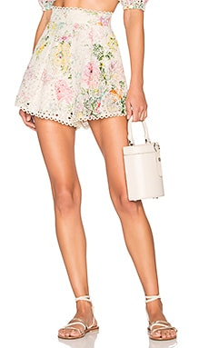 SHORT TAILLE HAUTE HEATHERS Zimmermann $375