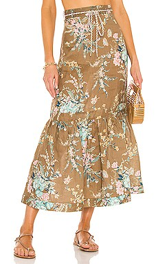 JUPE CASSIA Zimmermann $530 Collections