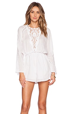 Zimmermann Marisol Romper in White