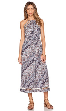 Zimmermann Ryker Chevron Jumpsuit in Print