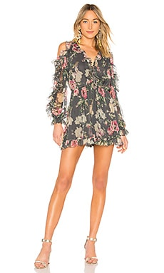 Iris Tie Sleeve Playsuit Zimmermann $640
