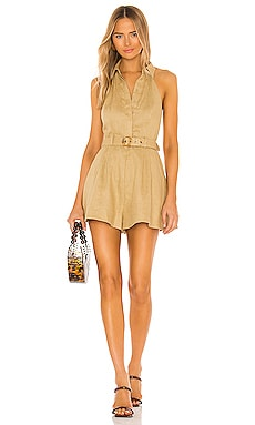 Brighton Halterneck Playsuit Zimmermann $480 NEW