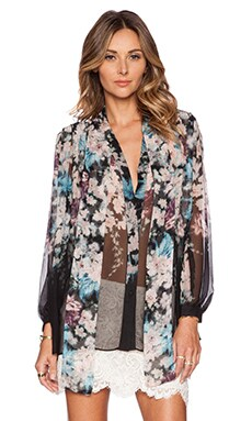 Zimmermann Fortune Top in Floral