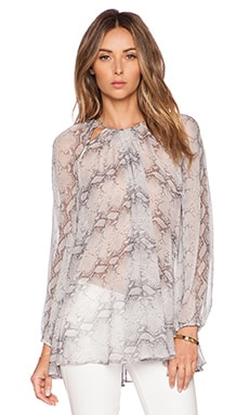 Zimmermann Seer Top in Snake