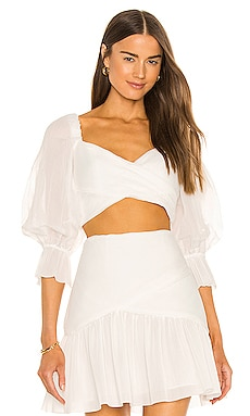 Pleated Bodice Top Zimmermann $425