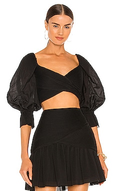 Pleated Bodice Top Zimmermann $425 NEW