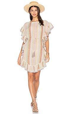 Расклешенное платье с бахромой tropicale - Zimmermann
