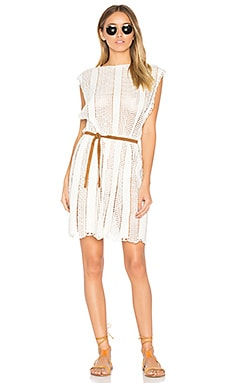 Caravan Crochet Dress in Natural