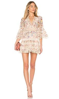 Lovelorn Floral Flutter Dress